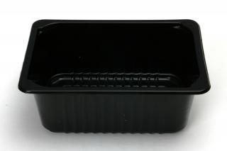 Лоток под запайку 210×148×81 мм черный
