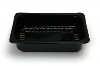 Лоток под запайку 210×148×47 мм черный