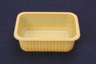 Лоток под запайку 187×137×63 мм желтый
