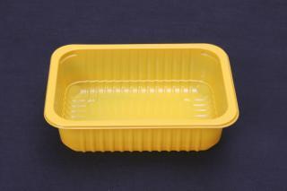 Лоток под запайку 187×137×50 мм желтый