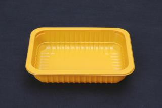 Лоток под запайку 187×137×37 мм желтый