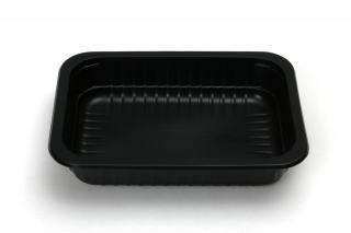 Лоток под запайку 187×137×37 мм черный морозостойкий