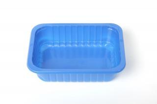 Лоток под запайку 187×137×50 мм синий