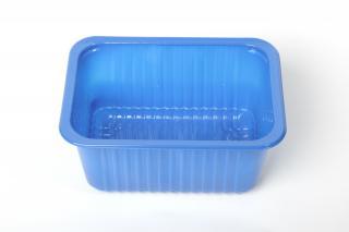 Лоток под запайку 187×137×83 мм синий