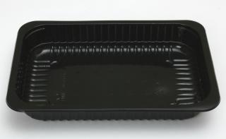 Лоток под запайку 260×177×40 мм черный