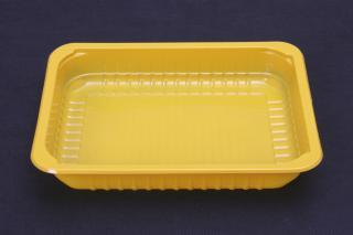 Лоток под запайку 227×178×50 мм желтый