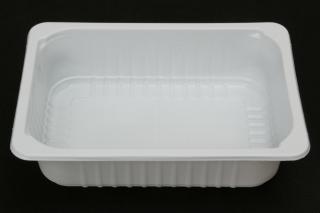 Лоток под запайку 210×148×47 мм белый