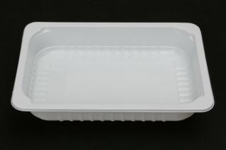 Лоток под запайку 210×148×35 мм белый